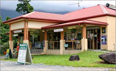 the local shop in Cape Tribulation